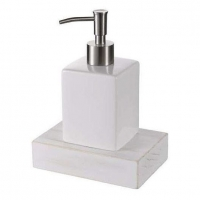 Дозатор жидкого мыла Haceka Whitewash 1127084 (402216)